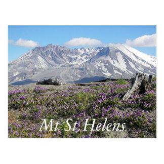 Mount Saint Helens reser Vykort