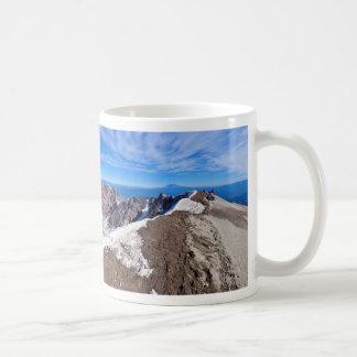Mount Saint Helens Stratovolcano toppmötepanorama Kaffemugg