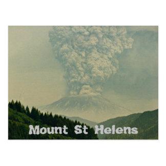 Mount Saint Helens vulkanutbrott Vykort