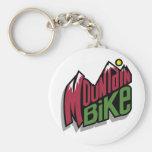 Mountainbike Nyckelring