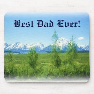 Mousepad för vårTetons bäst pappa någonsin Musmatta