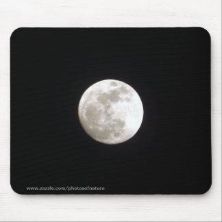 Mousepad - fullmåne på klar natthimmel mus mattor