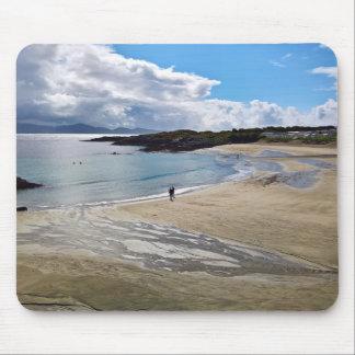 Mousepad: Härlig strand med blå himmel; Irland Musmatta