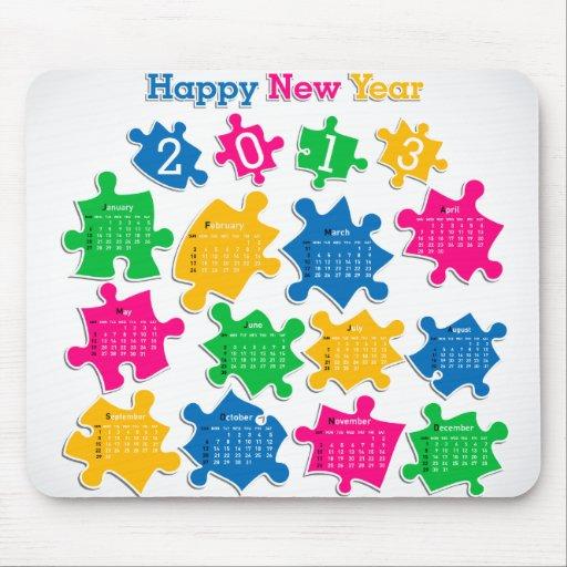 Mousepad kalender 2013 4 musmatta