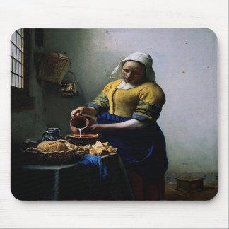 Mousepad med Johannes Vermeer målning Musmatta