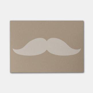 Moustache Post-it Lappar