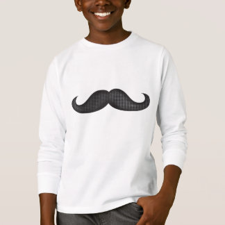 Moustache - svart tee shirts