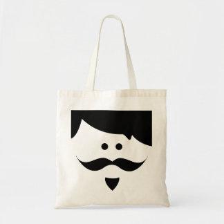 moustache tygkasse