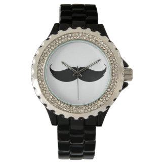 Moustachearmbandsur Armbandsur