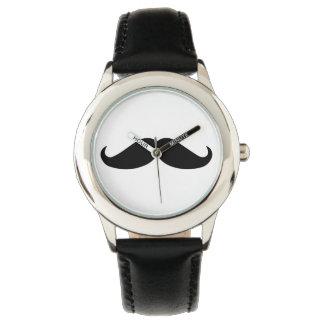 Moustachemodeklocka Armbandsur