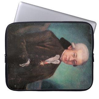 Mozart porträtt laptop fodral