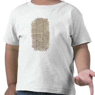Mozarts tillträde i det dop- registret, 1756 tee shirt