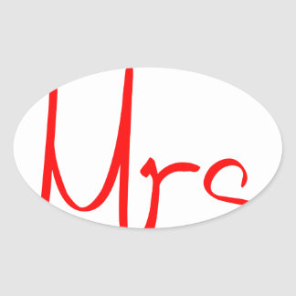 mrs-jel-red.png ovalt klistermärke