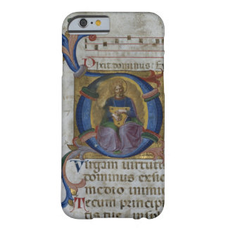 """Ms 531 f.169v Historiated initialt """"D"""" som visar Barely There iPhone 6 Fodral"""