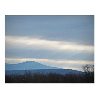 Mt. Monadnock från Keene Vykort