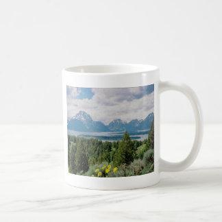 Mt. Moran och Jackson sjö Kaffemugg