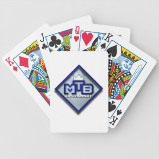 MtB cykel som leker kort Spelkort