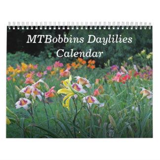 MTBobbins Daylilieskalender #1 Kalender