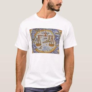 Muff t-skjorta för Jokovitch vit kort libra Tshirts