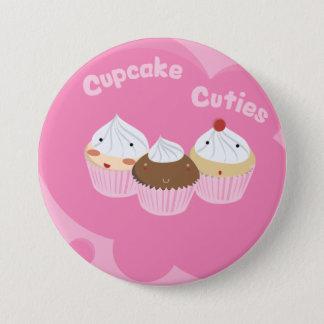 Muffin Cuties! Mellanstor Knapp Rund 7.6 Cm