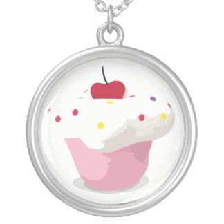 Muffin Silverpläterat Halsband