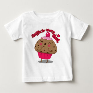 Muffin som omkring oroar tee shirt