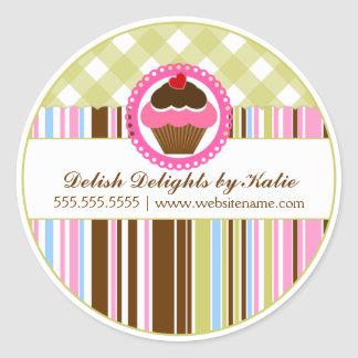 Cupcakes Klistermärken