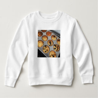 Muffinen panorerar skjortan tröja