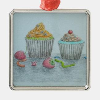 Muffins Julgransprydnad Metall