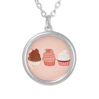 Muffins Silverpläterat Halsband