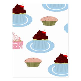 Muffins Vykort