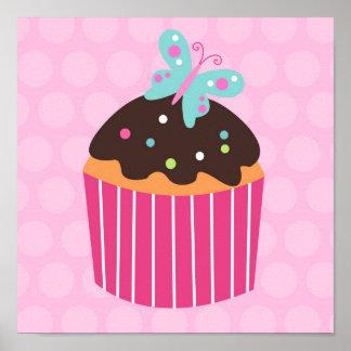 Muffinsötsaken lurar tryck för barnkammareväggkons posters