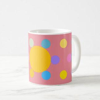"""Mug petit modèle, rose, """"Fleur stylisée Pastel"""" Vit Mugg"""