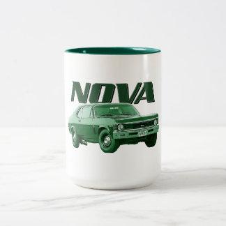Mugg 1969 för kaffe för Chevy NovaSS