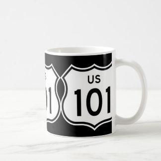 Mugg för 101 motorväg