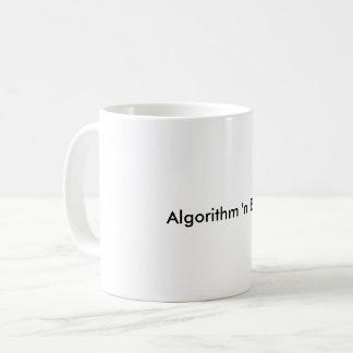 Mugg för algoritm'n-deppighet