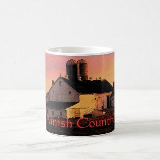 Mugg för Amish mejeriladugård