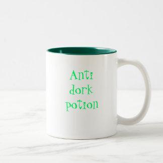 Mugg för Antidork dryckkaffe