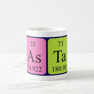 Mugg för Asta periodisk bordnamn
