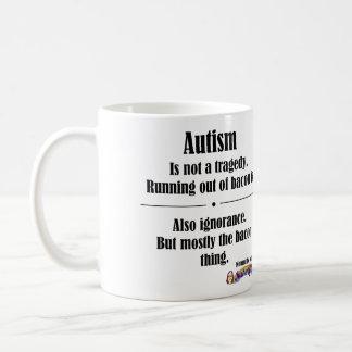 Mugg för Autismbacontragedi