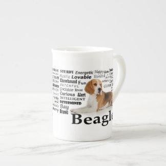 Mugg för Beagledragbenporslin Tekopp