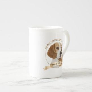 Mugg för Beaglemammabenporslin Tekopp