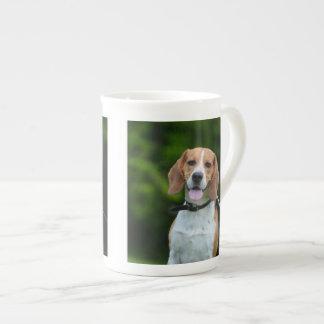 Mugg för benporslin för Beaglehund älskarefoto Tekopp