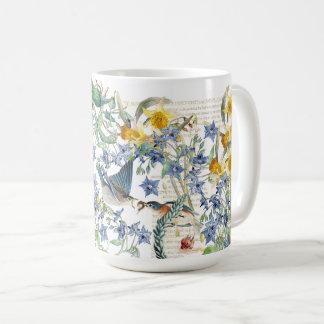 Mugg för blommor för pingstlilja för Audubon