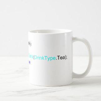 Mugg för C# vass programmerareTea