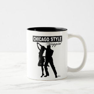 Mugg för Chicago stilSteppin kaffe