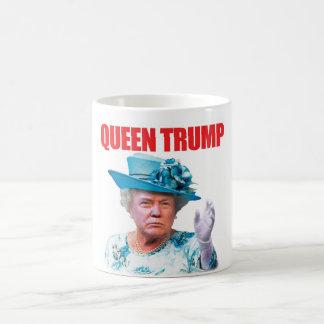 Mugg för Donald Trump drottningtrumf