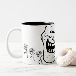 mugg | för espresso 11oz den Trollface
