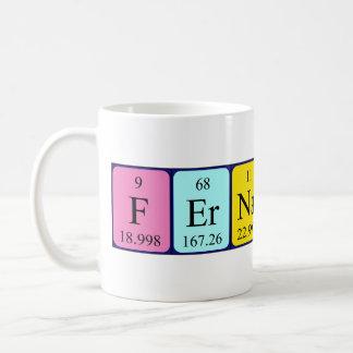 Mugg för Fernando periodisk bordnamn