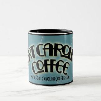 Mugg för fortCaroline kaffe